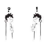 Проблема и решение иллюстрация вектора