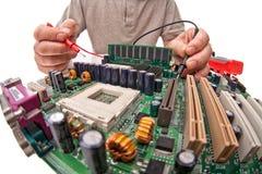 Проблема компьютера Стоковая Фотография RF