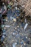 Проблема окружающей среды, отброс Загрязнение с твердыми частицами и pl Стоковые Изображения RF
