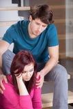 Проблемы замужества Стоковое Изображение
