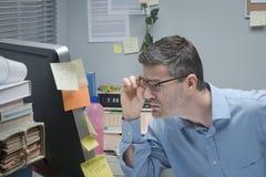 Проблемы зрения Стоковое Фото