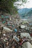 Проблемы окружающей среды и загрязнение природы Стоковое Фото