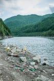 Проблемы окружающей среды и загрязнение природы Стоковое Изображение RF