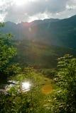 Провансаль. Холмы и горы в лете. стоковые фото