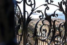Провансаль Cote d'Azur, Франция - взгляд на побережье стоковое изображение rf