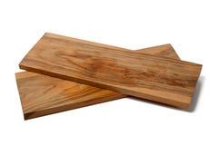 Прованские деревянные доски на белой предпосылке Стоковое Фото