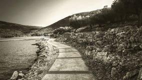 Прованский walkaway Стоковое Изображение