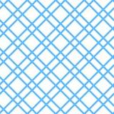 Проверенная безшовная картина вектора Стоковые Изображения