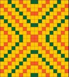 Проверенная картина вектора Стоковое Фото