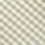 Проверенная картина ткани стоковая фотография