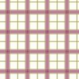 проверенное безшовное картины пурпуровое Стоковая Фотография RF
