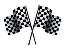 Проверенный флаг спорта Стоковое Фото
