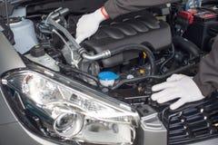 Проверите двигатель Стоковое Изображение