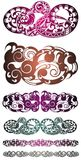проверите изображение конструкции мой tattoo портфолио подобный Дизайн вектора татуировки племенной Татуировка искусства племенна Стоковые Изображения