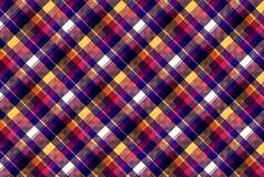 Проверите картину текстуры ткани пиксела безшовную Стоковые Фото