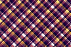 Проверите картину текстуры ткани пиксела безшовную Стоковая Фотография RF