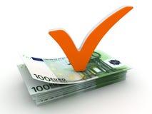 проверите метку евро бесплатная иллюстрация