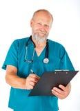 проверите медицинское поднимающее вверх Стоковое Изображение