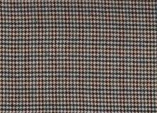 проверите houndstooth ткани Стоковое Изображение RF