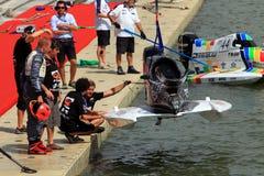 проверите powerboat стоковое изображение