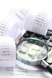 Проверка налоговой декларации стоковое фото rf