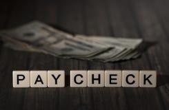 Проверка оплаты стоковое фото