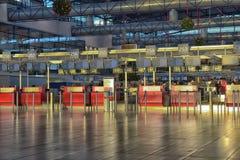 проверка prague авиапорта Стоковые Фотографии RF