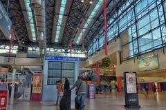 проверка prague авиапорта Стоковое Фото