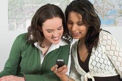 проверять самые последние вне sms Стоковые Фото
