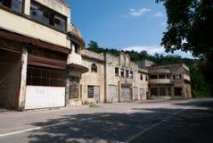 проветрите caproni здания стоковые изображения rf
