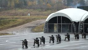 Проведение демонстрации сил специального назначения акции видеоматериалы
