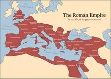 Провинции римской империи Стоковая Фотография
