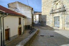 Провинция Валенсии, Испания Ares del Maestrazgo Стоковое Фото