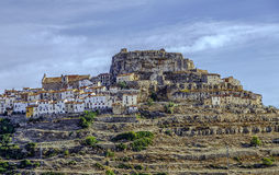 Провинция Валенсии, Испания Ares del Maestrazgo Стоковые Изображения