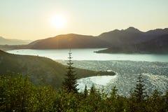 провинция гор озера ladakh Гималаев Стоковая Фотография