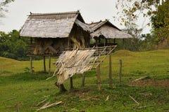 провинция жизни лаосца Лаоса живущая vientian стоковая фотография