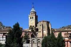 провинция Испания teruel aragon albarracin Стоковое фото RF