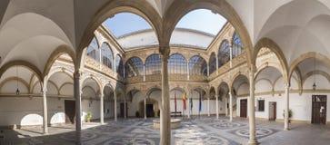 провинция Испания ubeda palacio las города двора de залы jaen cadenas andalucia Jaen p Стоковое фото RF
