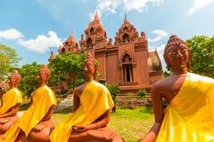 Провинция Таиланд Buriram phra khao Wat angkhan Стоковое Изображение