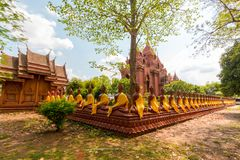 Провинция Таиланд Buriram phra khao Wat angkhan Стоковая Фотография RF