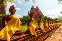 Провинция Таиланд Buriram phra khao Wat angkhan Стоковое Фото