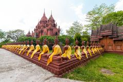 Провинция Таиланд Buriram phra khao Wat angkhan Стоковое Изображение RF