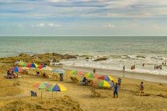 Провинция эквадор Guayas пляжа Engabao Стоковое фото RF