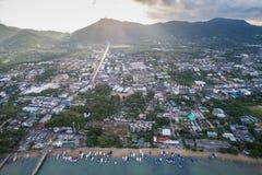 Провинция Huket на районе подводной лодки Chalong Стоковое Изображение
