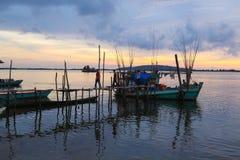 Провинция kong Koh в Королевстве Камбоджи около границы Таиланда Стоковая Фотография RF