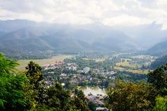 Провинция Mae Hong Son в Таиланде стоковые фотографии rf