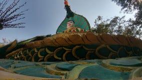 провинция s Таиланд pathom парка nakhon Будды дня рождения Стоковые Фотографии RF
