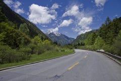провинция sichuan национального парка jiuzhaigou Стоковая Фотография
