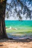 Провинция SIHANOUK VILLE королевство Камбоджи пляжа рая интереса Стоковое Изображение