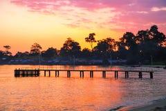 Провинция SIHANOUK VILLE королевство Камбоджи пляжа рая интереса Стоковые Изображения RF